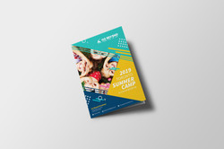 Camp Event Booklit design