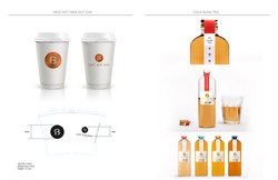 Cold Brew Tea Package and Cup Design