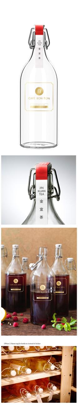 Bottle Sticker Design