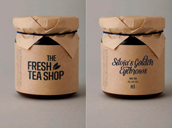 Tea Tin Packaging design
