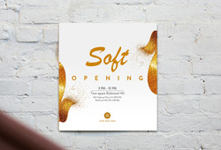 Soft Opening Poster Design