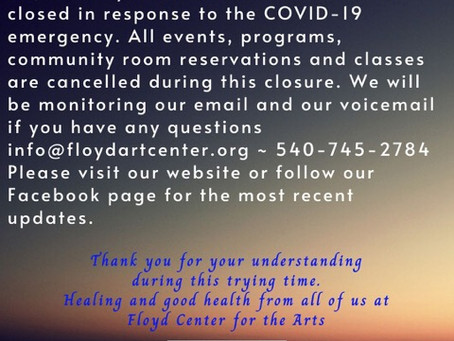 COVID-19, An Important Message