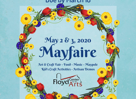 Cancelled: Mayfaire Vendor Applications Now Available!