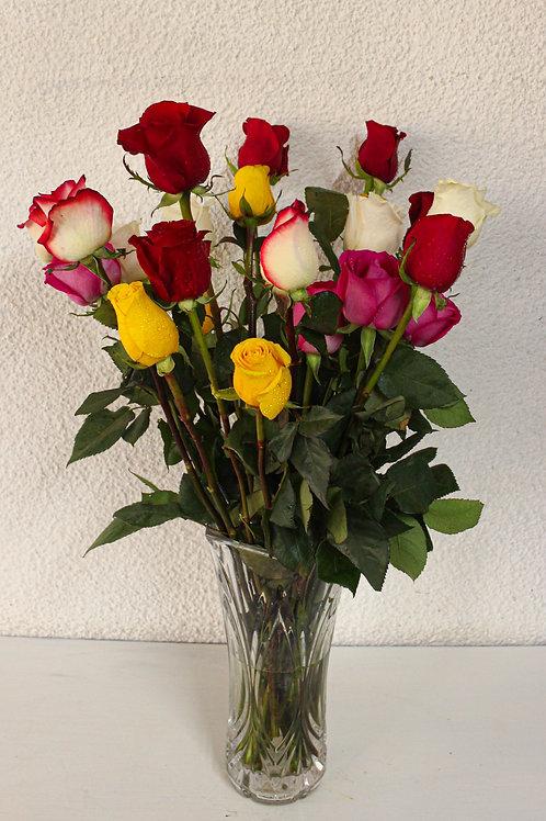 Rosas individuales