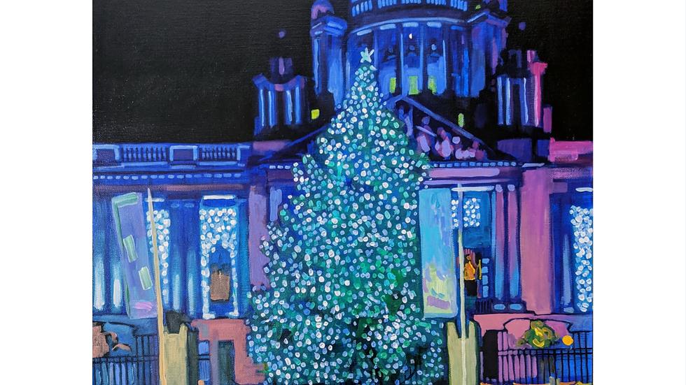 Belfast City Hall At Christmas