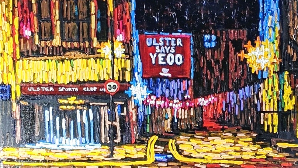 Ulster Says Yeoo