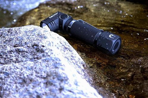 Nicron Magnetized 90 Degree Dumpster Diving Flashlight