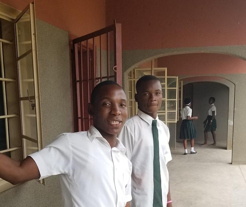 Mfuwe Boarding School boys