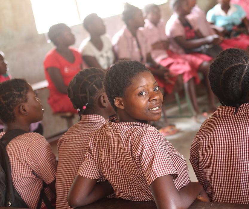 Nsefu School girls