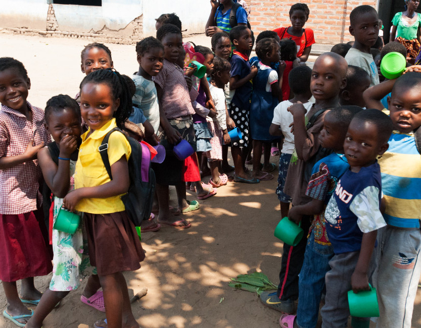 Nsefu Elementary Students