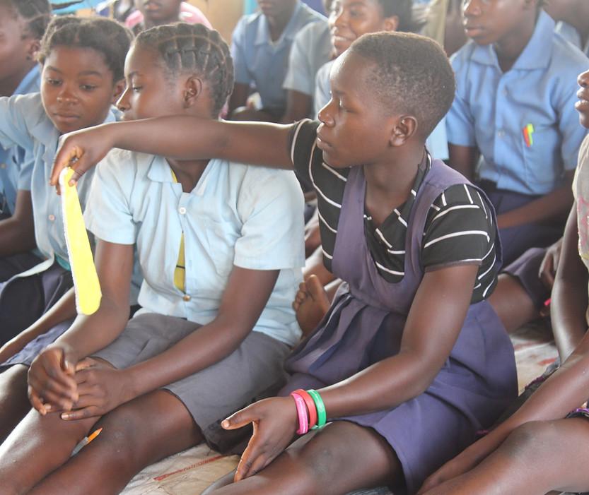 Katapila School girls