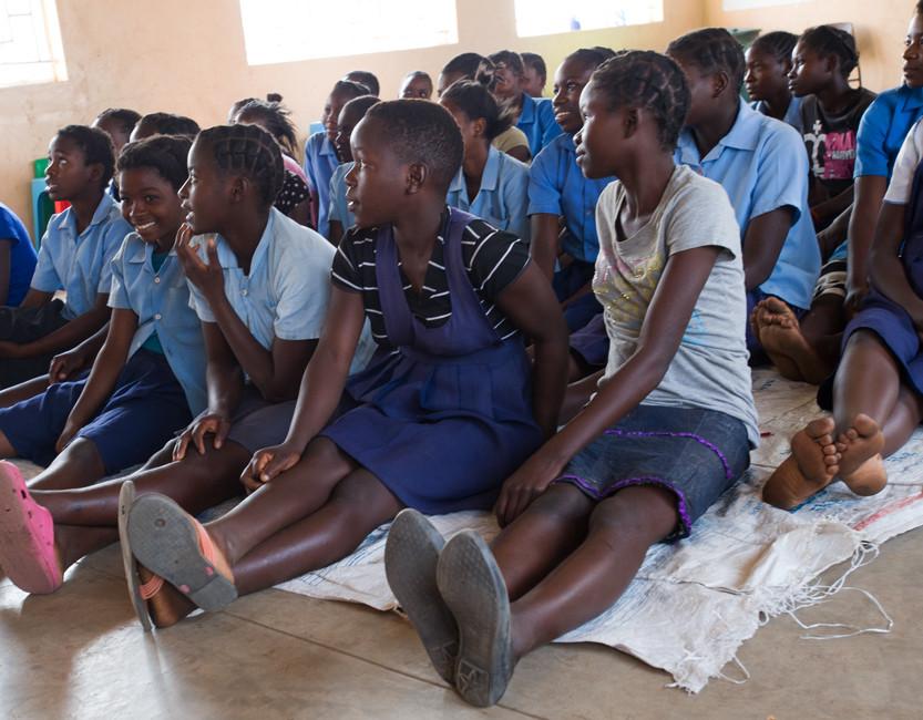 Kapita School girls