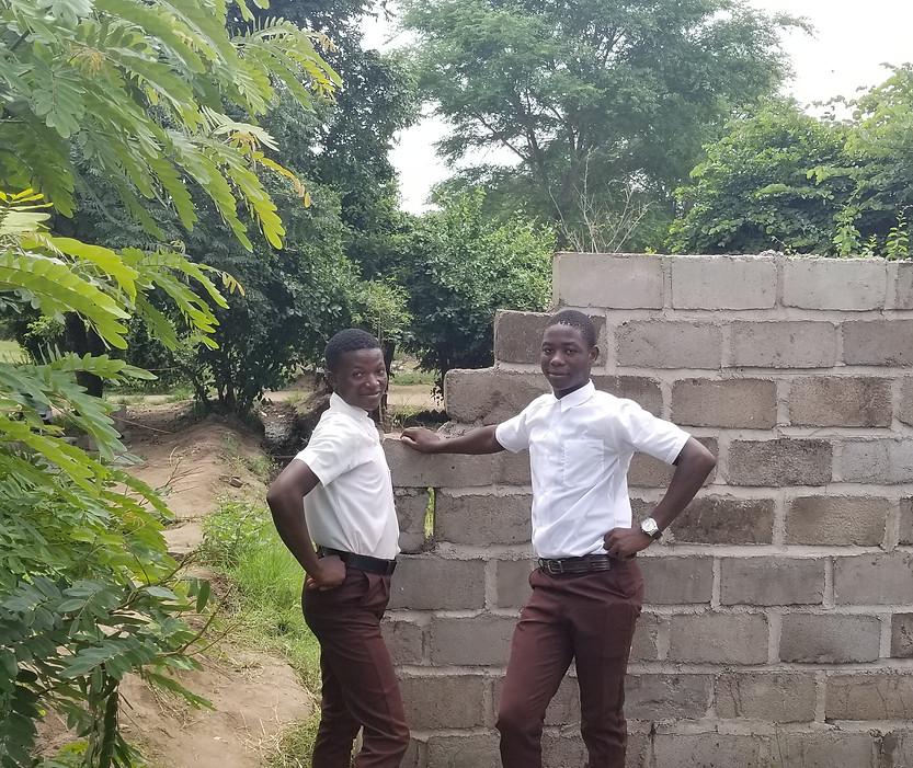 Malimba School boys