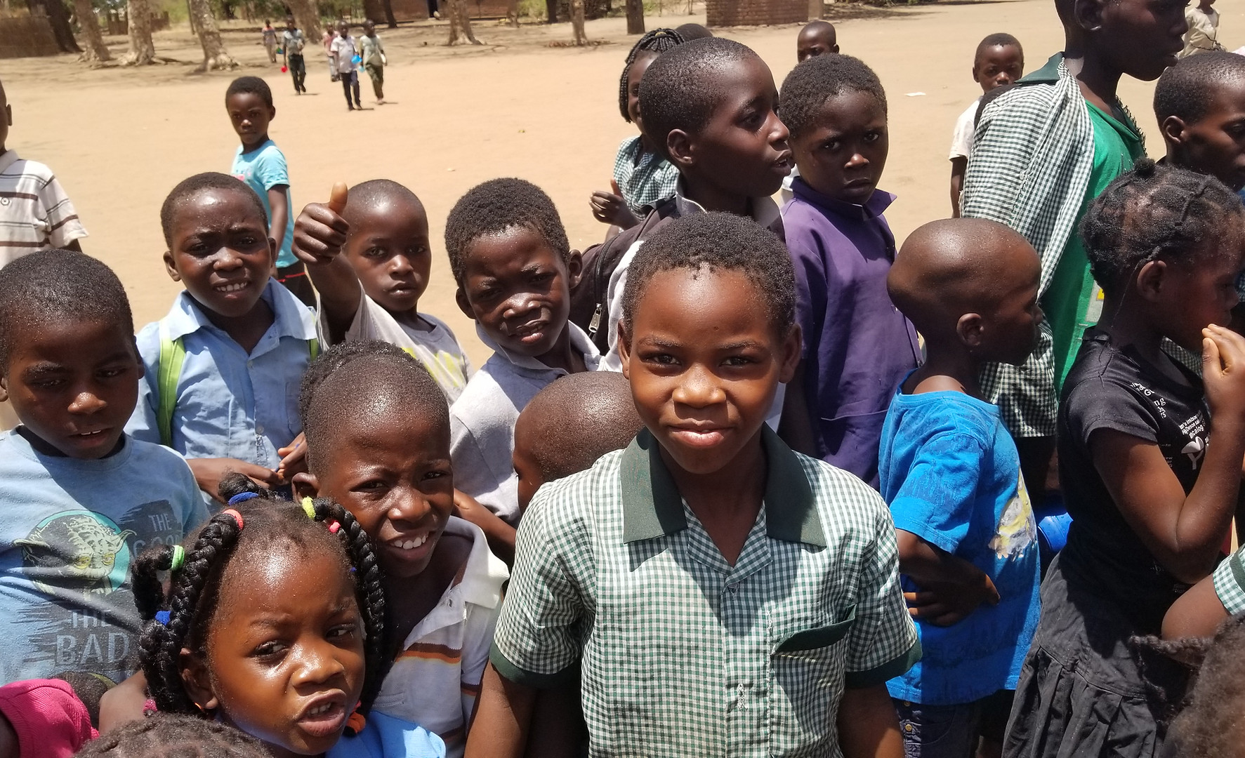 Katapila School students