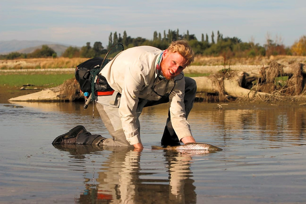 Fishing Osteopath Lachlan Allen