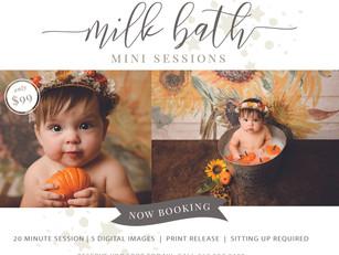 Pumpkin Milk Bath Mini