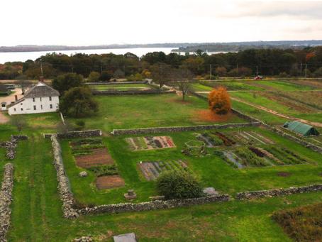 Historic New England has permanently installed  'Three Sisters' Rainkeep