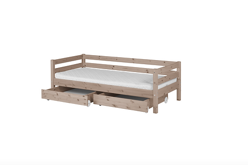lit simple terra avec tiroirs