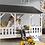 Thumbnail: HOUSEBED toit noir ou blanc
