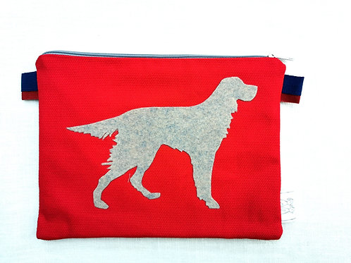 VIP - Pochette, bustina Portadocumenti del tuo cane Setter