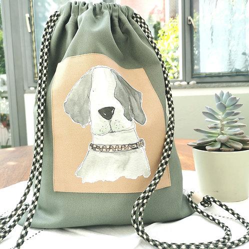 ZIPPO - Zainetto da Passeggio con silhouette cane