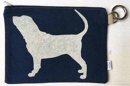 VIP - Pochette, bustina Portadocumenti del tuo cane Bloodhound