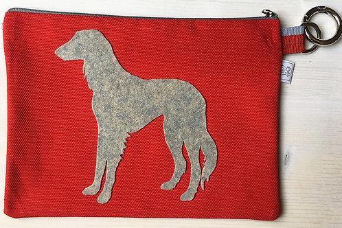 VIP - Pochette, bustina Portadocumenti del tuo cane Saluki