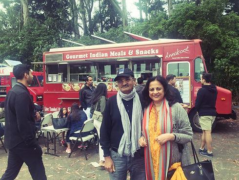 Food truck, Breads of India, Berkeley Restaurant