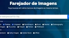 Buscador reúne imagens de diferentes bancos em uma só pesquisa