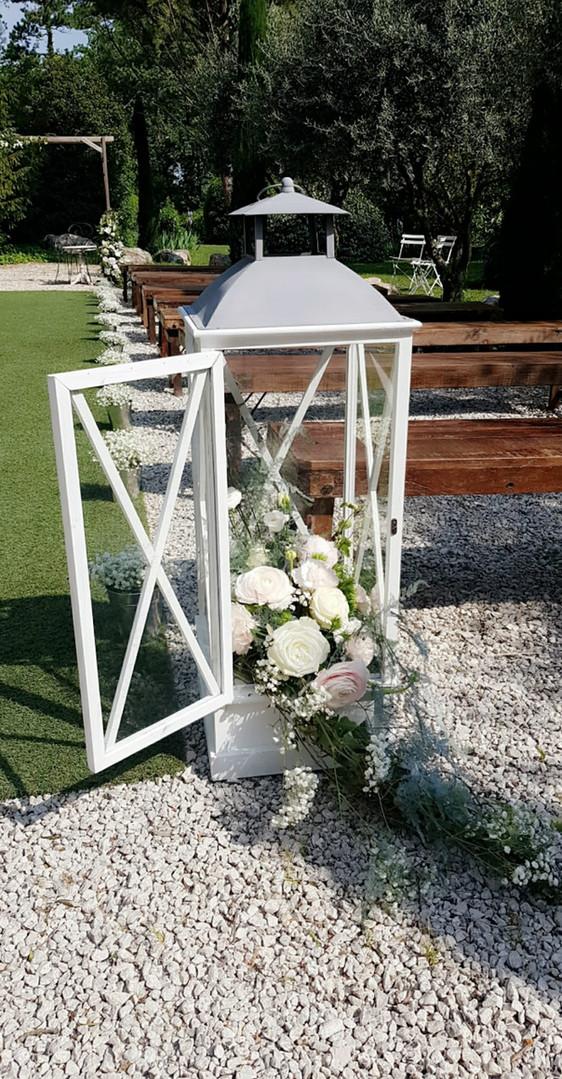 Décoration lanterne mariage