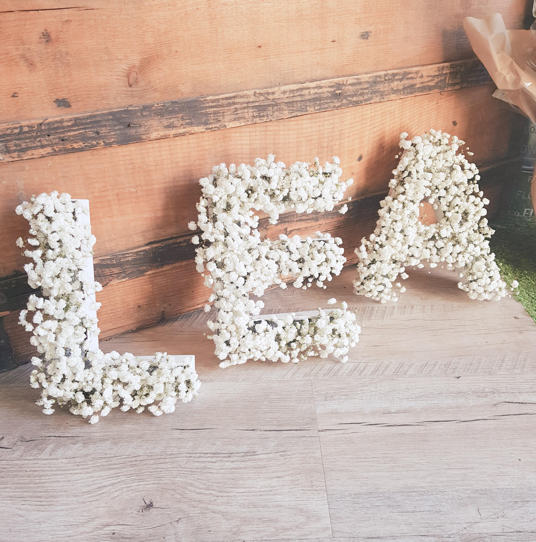 Lettre florale