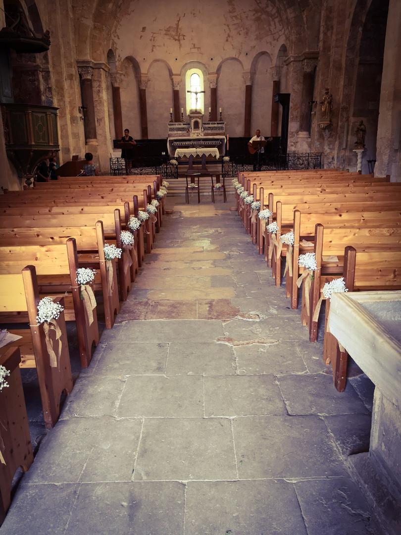 Fleurissement de l'église