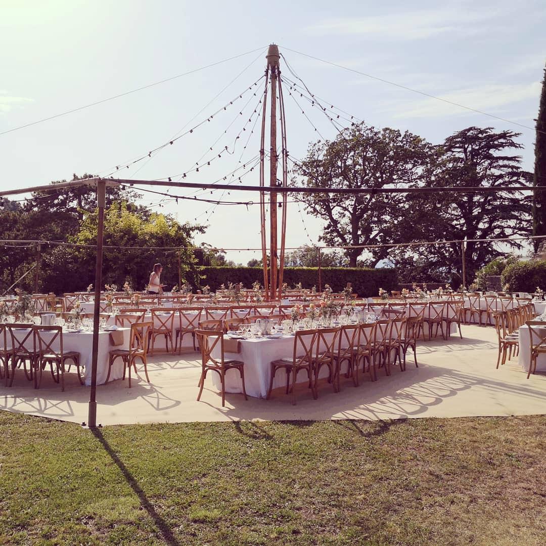 Décoration réception mariage