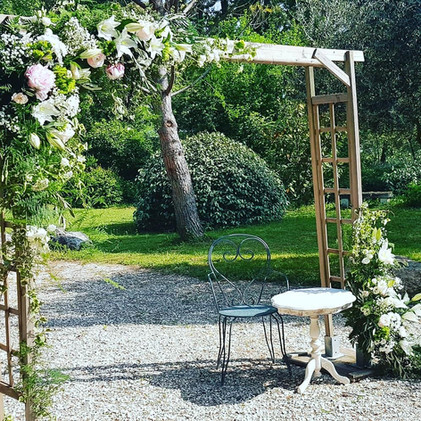 Arche florale