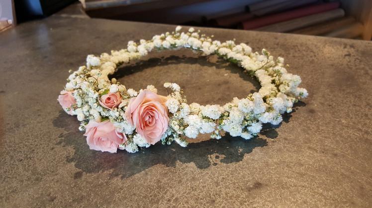 Couronne florale