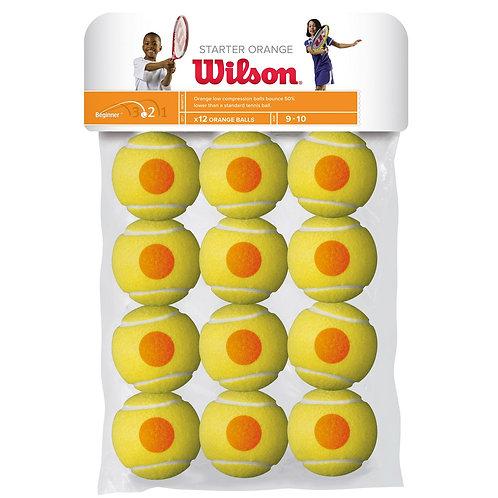 Balles Wilson orange ( baril x12 )