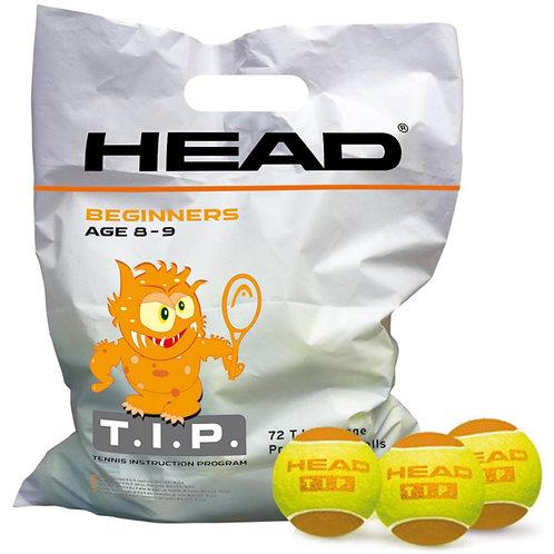 Balles Head orange ( avec baril )