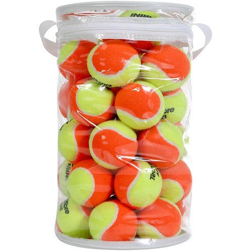 Balles Tecnifibre orange ( Sac de 36 balles )