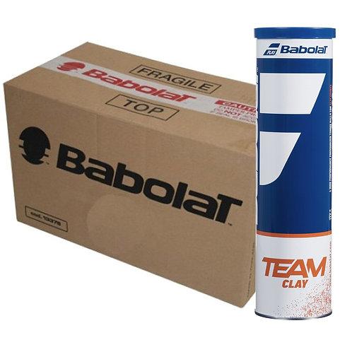 Carton Babolat Clay 18 tubes de 4 balles