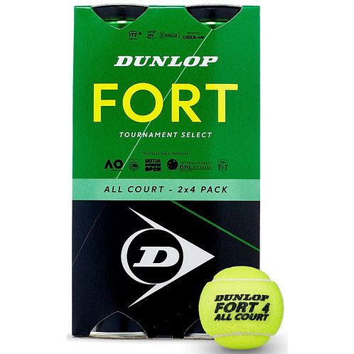 Balles BiPack Dunlop Fort