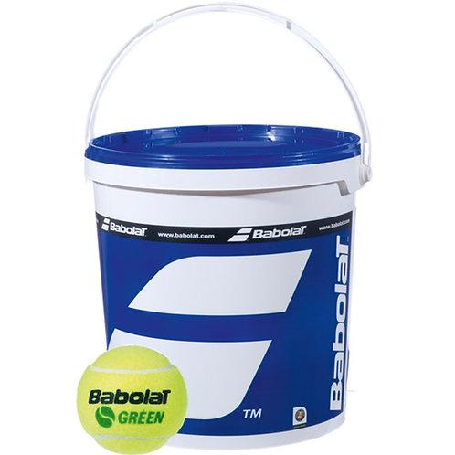 Balles Babolat green ( baril : 72 balles )
