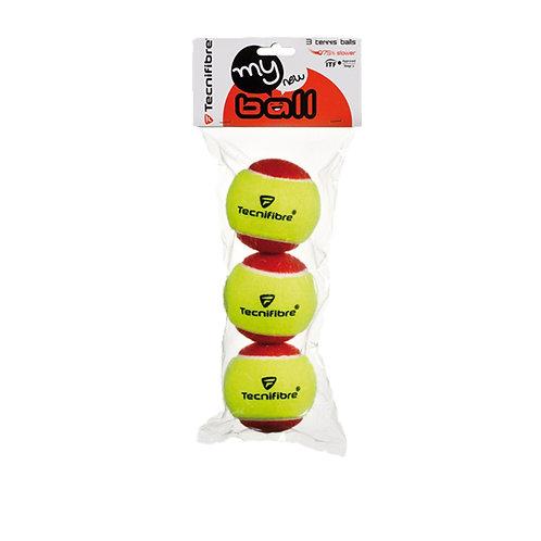 Balles Tecnifibre My New Ball lot de 3