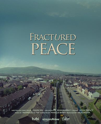 FRACTURED PEACE POSTER