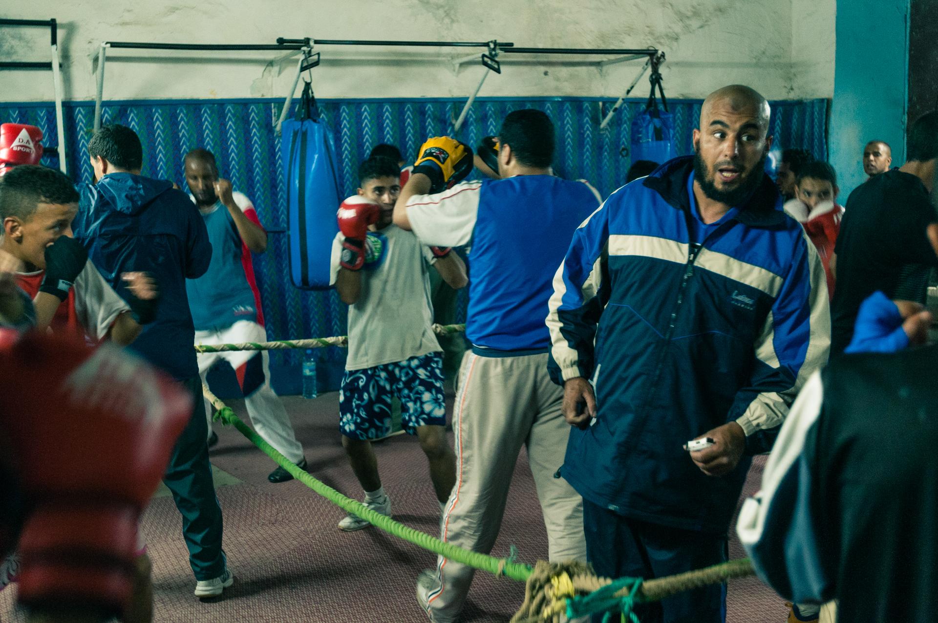 Boxer à Marrakech