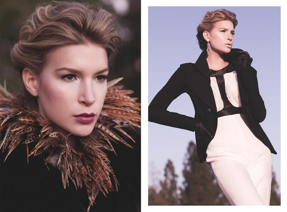 Fashion editorial makeup