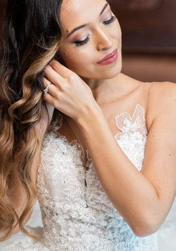 Columbian disney bride hair and makeup by Karissa Lorinne