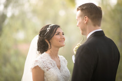 Makeup by Karissa Lorinne on this gorgeous young bride