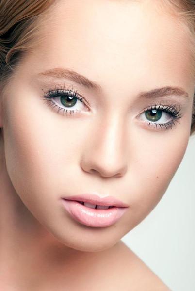 Beauty Makeup by Karissa Lorinne; Photographed by Gary Lyons; Model: Hanna Baldursdottir