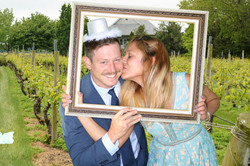 East End Entertainment DJs Photo booth Green screen Bride and Groom 2 0617 corey creek