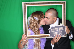 East End Entertainment DJs Photo booth Green screen Bride and Groom 1 0617 green screen